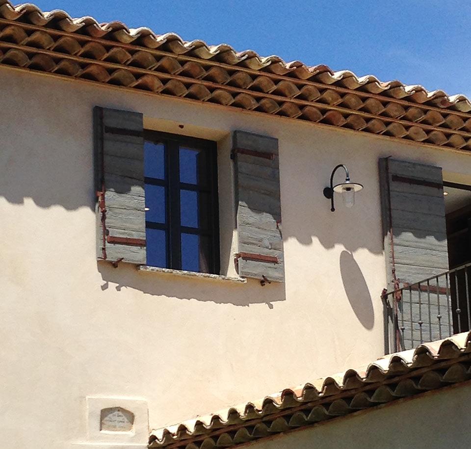 Volets provençaux
