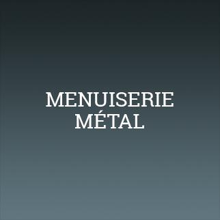 Menuiserie métal