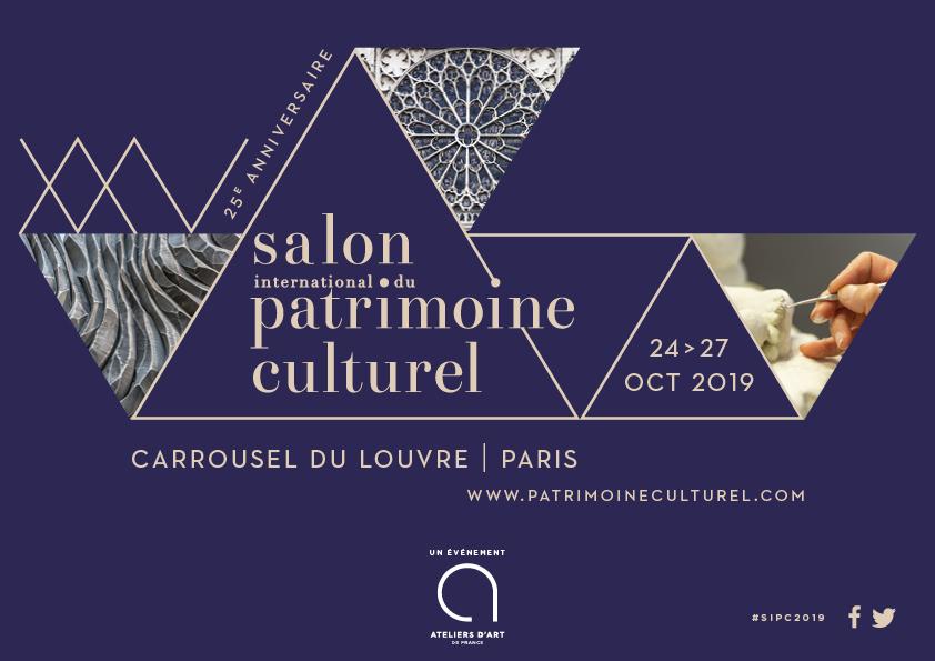 Salon international du patrimoine culturel : Atelier de la Boiserie présent à la 25 ème édition !