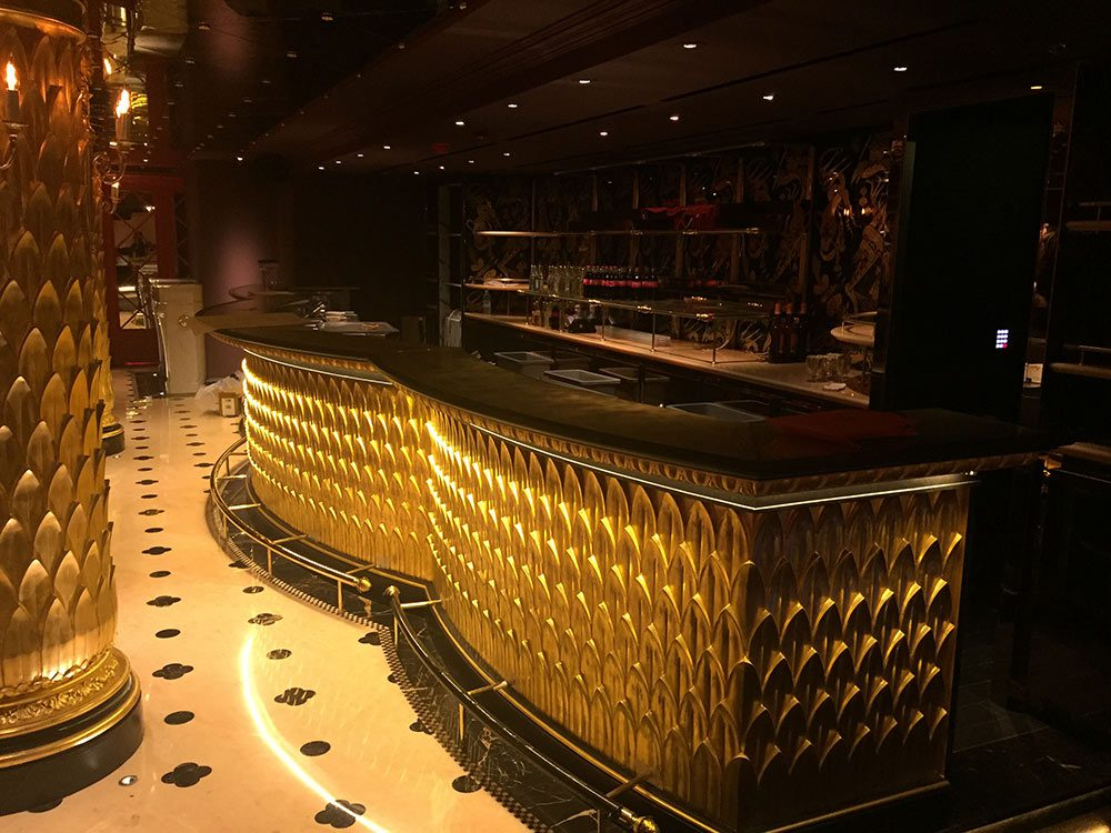 Bar courbe - Cabaret le Park Chinois - London