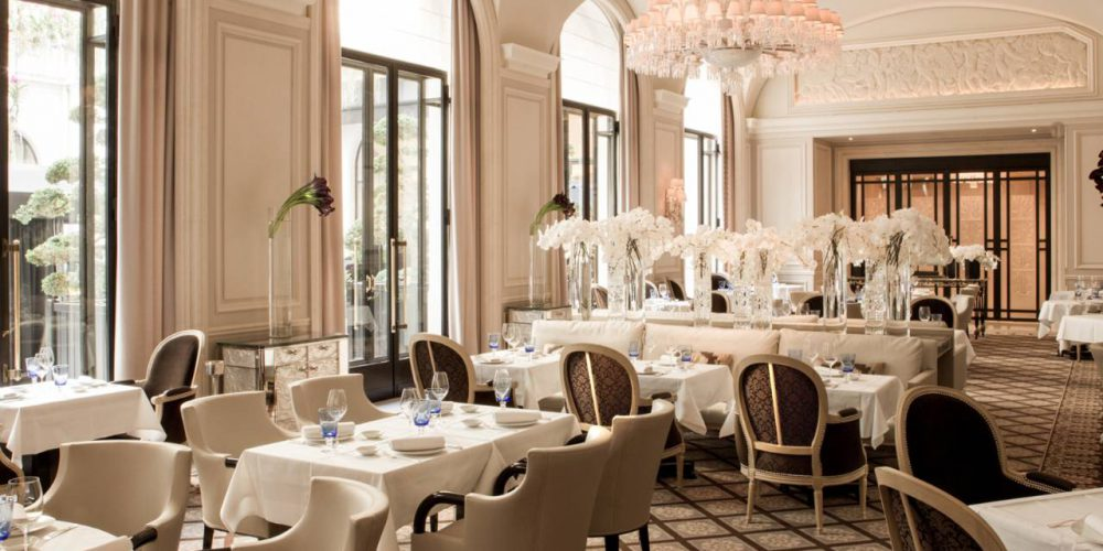 Four Seasons Hôtel George V - Restaurant Le Cinq - Paris