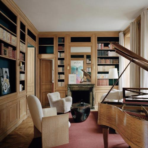 Pierre Yovanovitch - Paris - Salon Bibliothèque